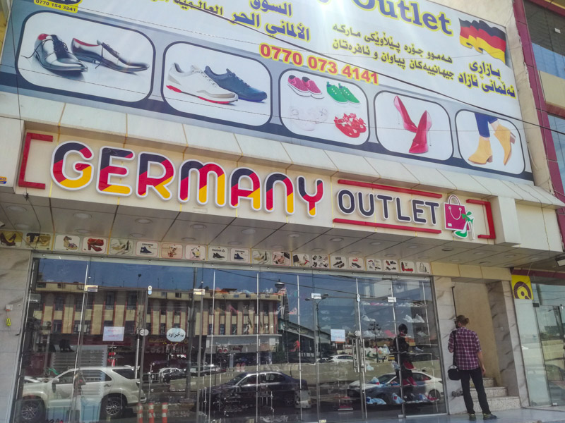German Outlet in Iraq